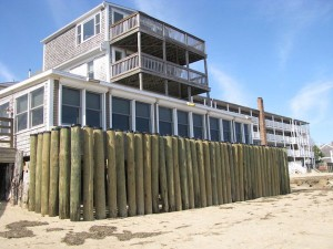 Fanizzi's Restaurant by the Sea - Storm Pilings