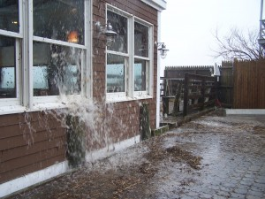 Fanizzi's Restaurant by the Sea Storms, Nor'Easters, Hurricanes, Tropical Storms
